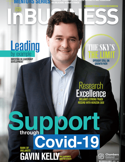 InBUSINESS Spring 2020 Cover
