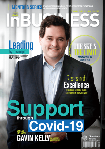 InBUSINESS Spring 2020 Cover