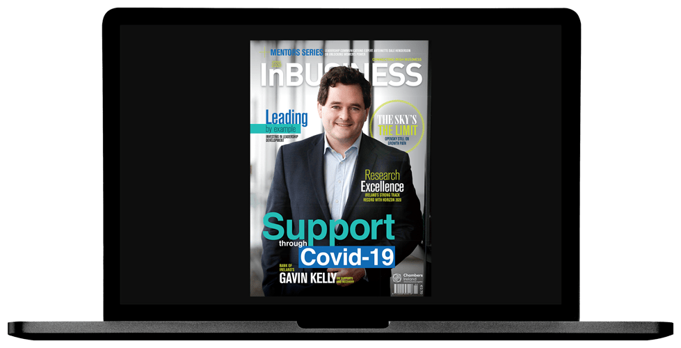 InBUSINESS Spring 2020 Laptop Image