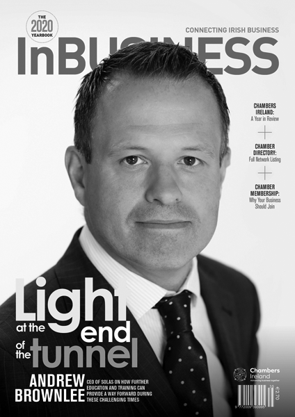 InBUSINESS Yearbook 2020 Cover