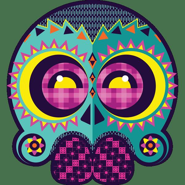 Blog Awards 2018 - Green Skull