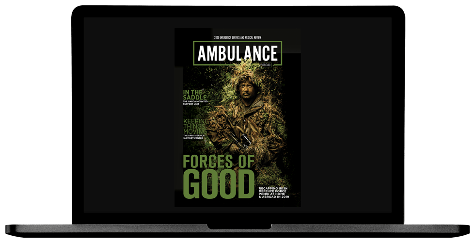 Ambulance Yearbook 2020 Laptop Cover