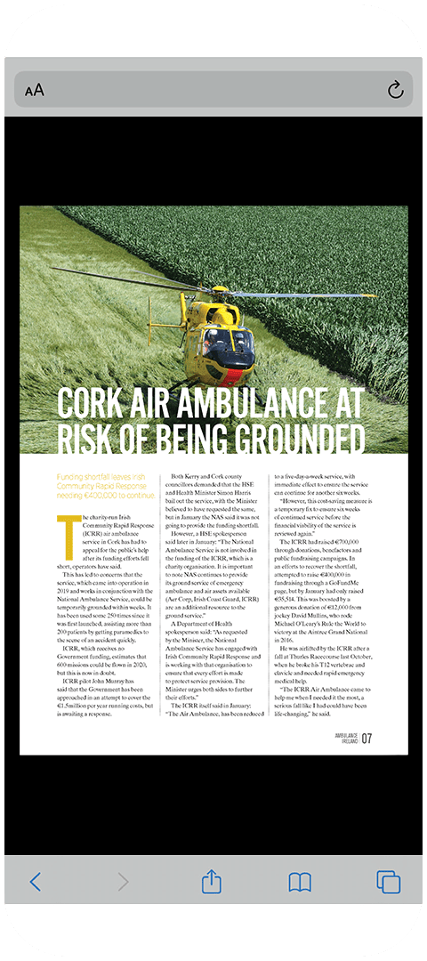 Ambulance Yearbook 2020 - Mobile