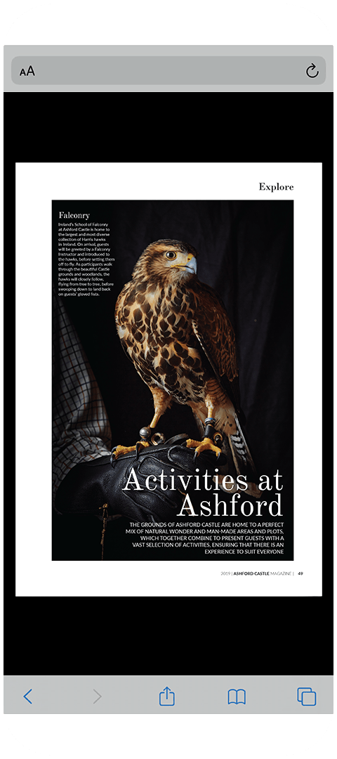 Ashford Castle 2019 Phone Image - Activities