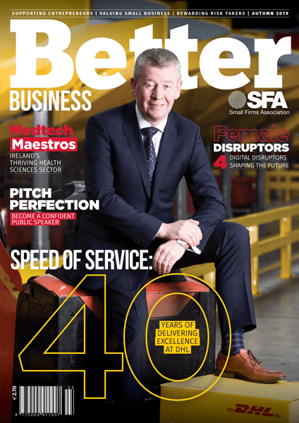 Better Business Autumn 2019 Cover
