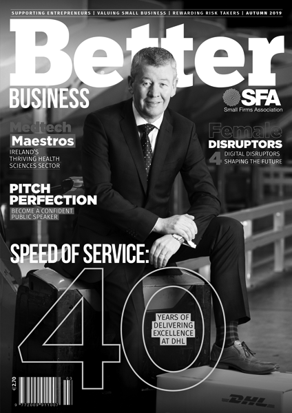 Better Business Autumn 2019 Cover Grayscale
