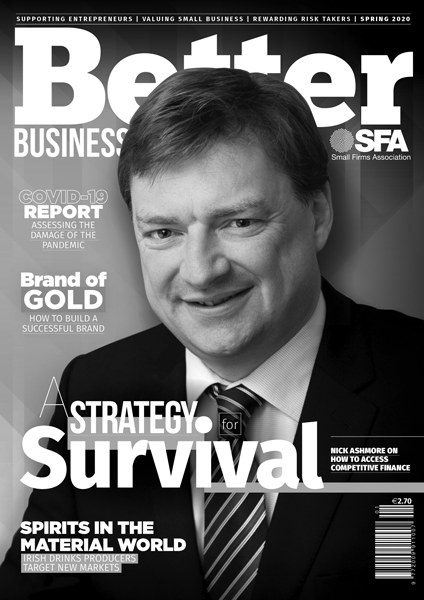 Better Business Spring 2020 Cover Grayscale
