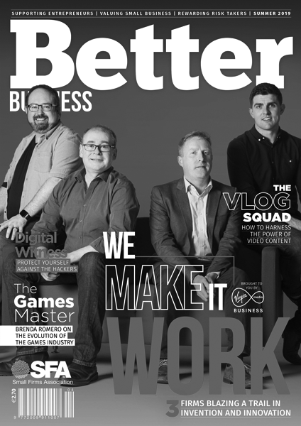 Better Business Spring 2019 Cover Grayscale