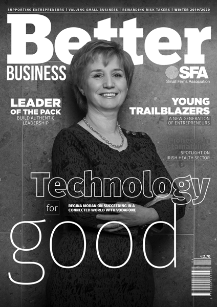 Better Business Winter 2019 Cover Grayscale