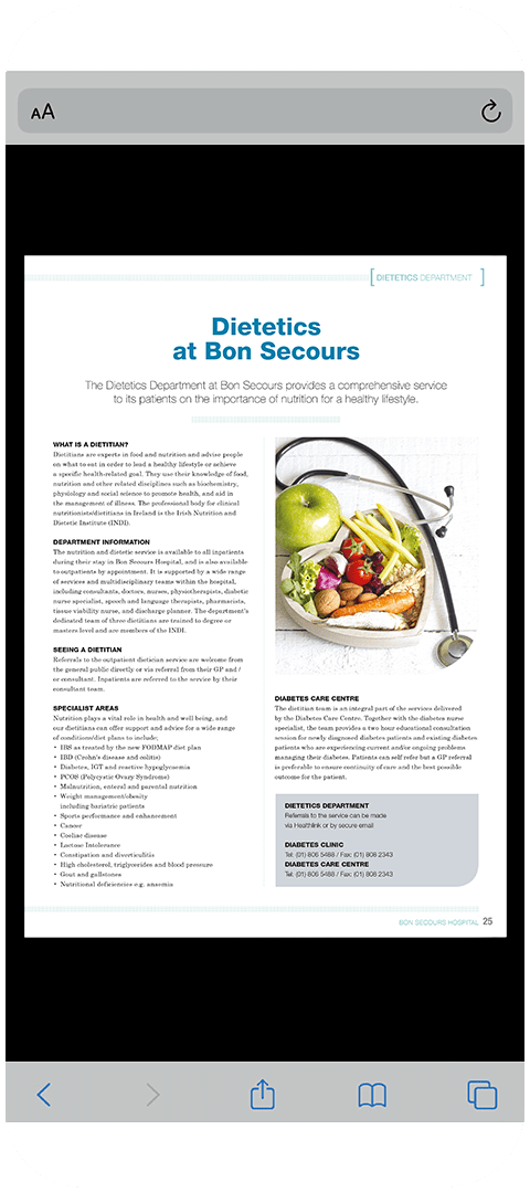 Bon Secours 2019 Mobile Image
