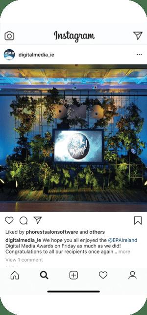 DMA 2020 Instagram post