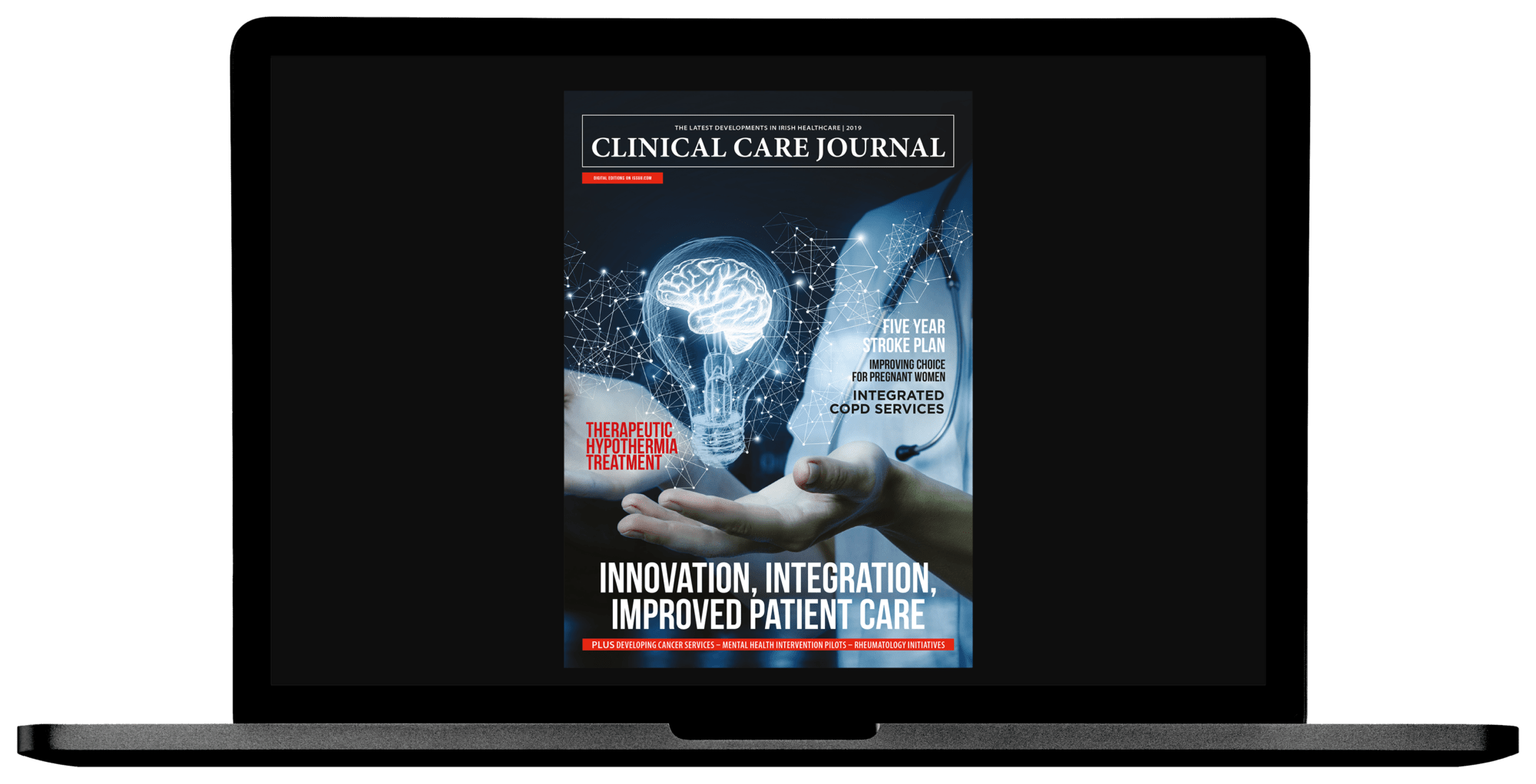 The Clinical Care Journal 2019 - Laptop Cover