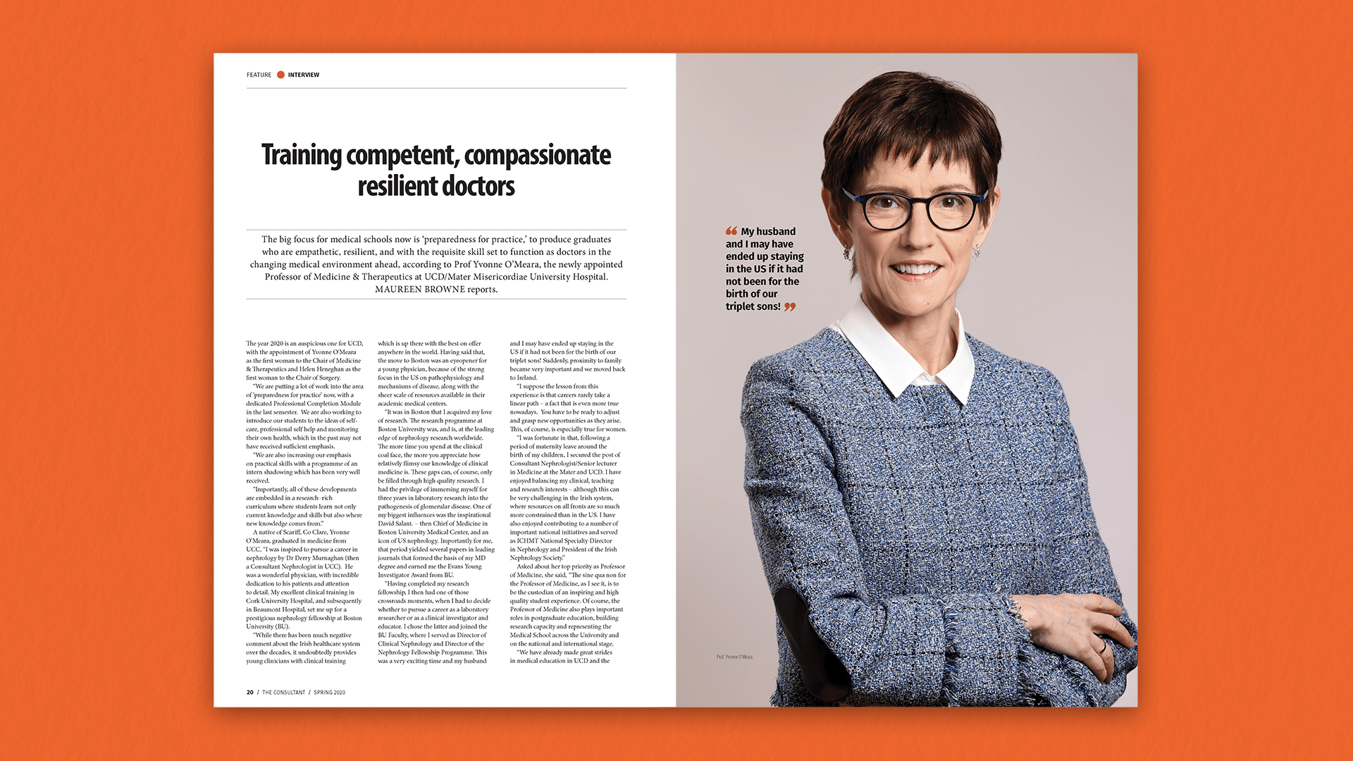 Consultant Spring 2020 Feature Spread A