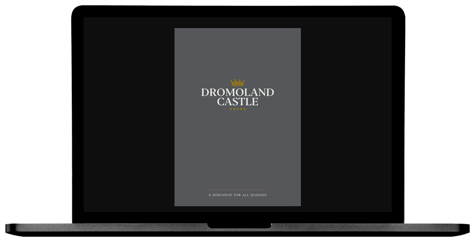 Dromoland Castle Laptop Cover