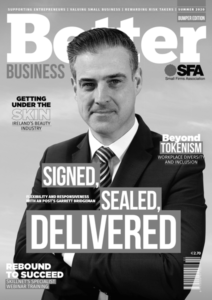 Better Business Summer 2020 Cover Grayscale