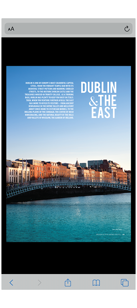Ireland at your Leisure 2020/2021 - Phone Spread B