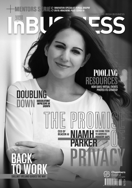 InBUSINESS Summer 2020 Grayscale Cover