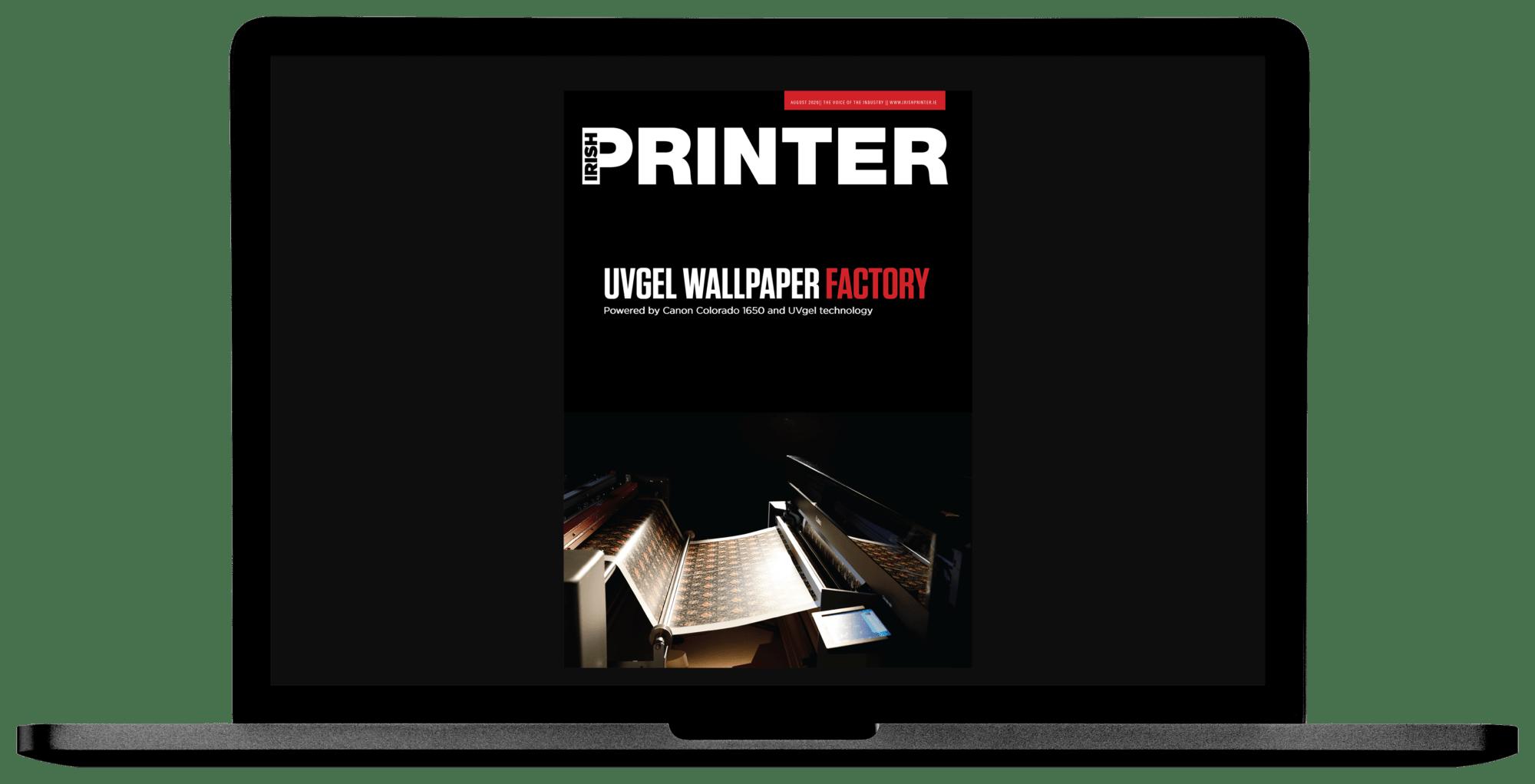 Irish Printer August 2020 - Laptop Spread