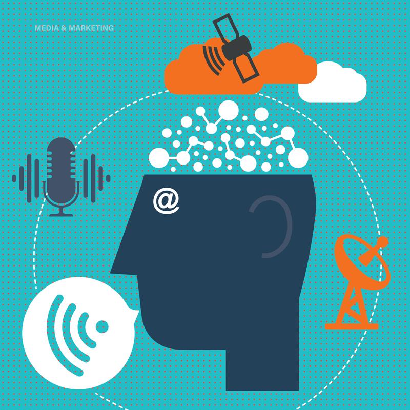 Media & Marketing - Illustration Image 800 x 800